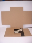 """Гофрированная картонная коробка для отправки пластинок 12 """"LP"""