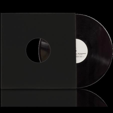 """Конверт внешний картонный черный для пластинок 12"""""""