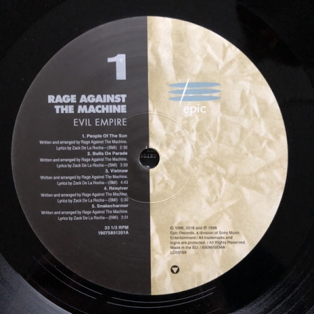 Rage Against The Machine - Evil Empire (Europe 2018)