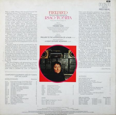 Tomita - Firebird (UK 1976)