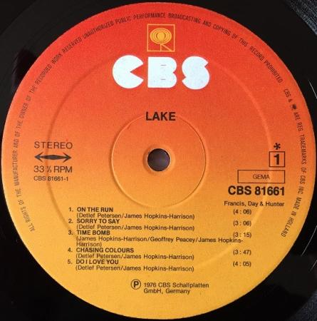 Lake - Lake (Germany 1976)