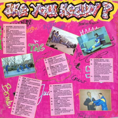 The Rock Steady Crew - Ready For Battle (UK 1984)