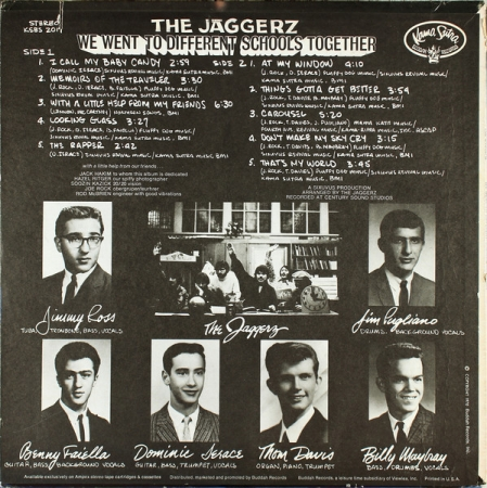 The Jaggerz - We Went To Different Schools Together (US 1970)