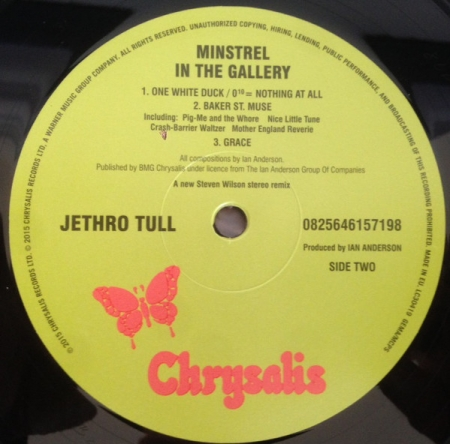 Jethro Tull - Minstrel In The Gallery (UK & Europe 05 May 2015)