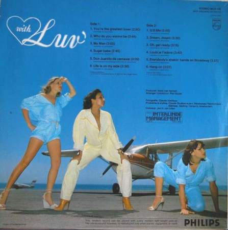 Luv' - With Luv' (Netherlands 1978)