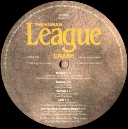 The Human League - Crash (UK 08 Sep 1986)
